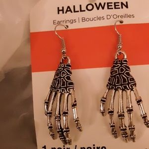 3 pairs Halloween drop wire earrings